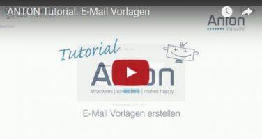 E-Mail Vorlagen erstellen