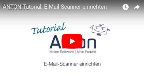 E-Mail Scanner einrichten