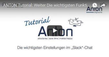 Wichtigste Funktionen in Slack