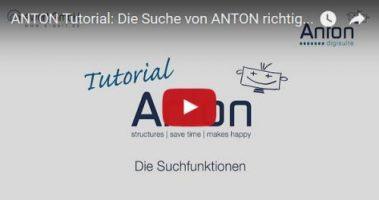 Suche in ANTON