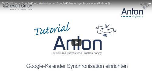 Google Kalender synchronisieren