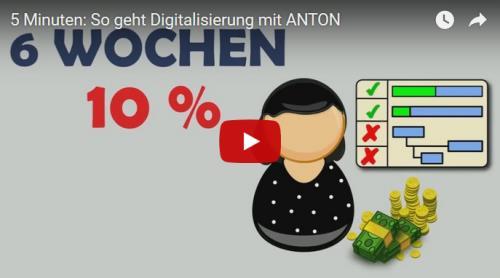 ANTON und Slack Digitalisierung