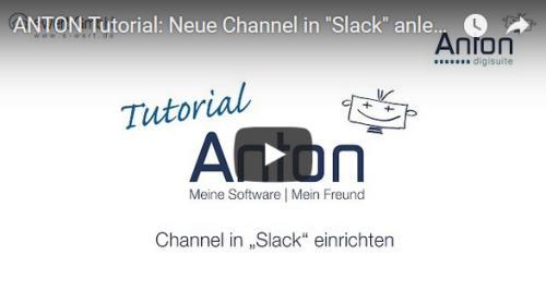 Slack Channel mit ANTON