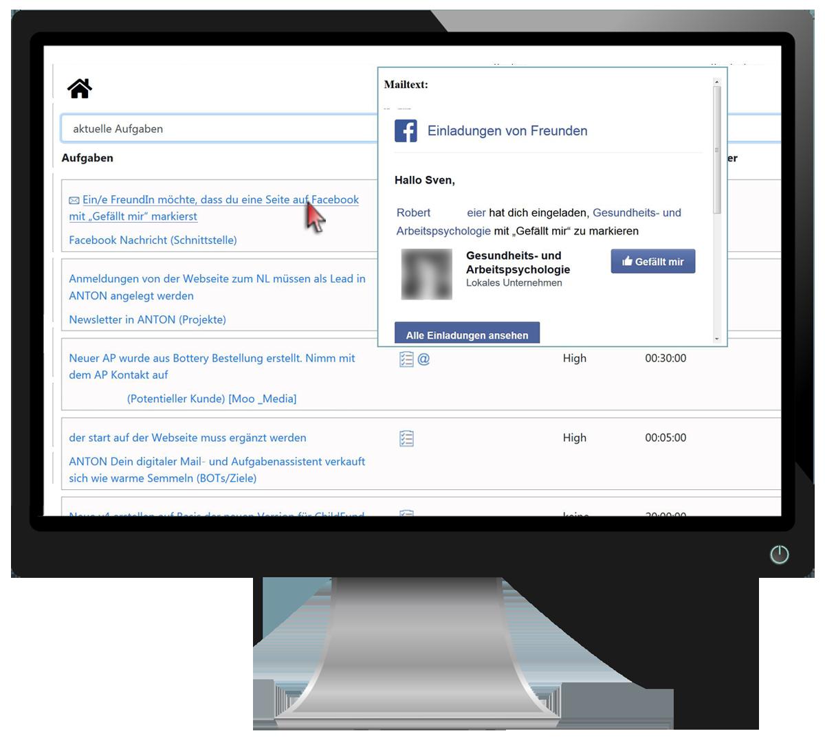 Doings mit Vorschau Facebook