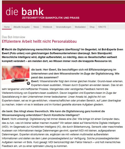 die Bank