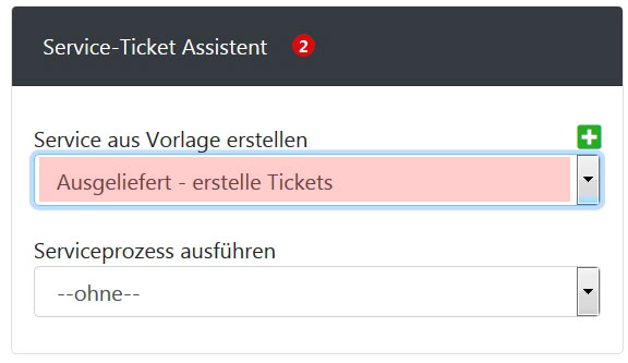 Service Ticket Assistent