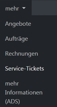Navigation Service-Tickets