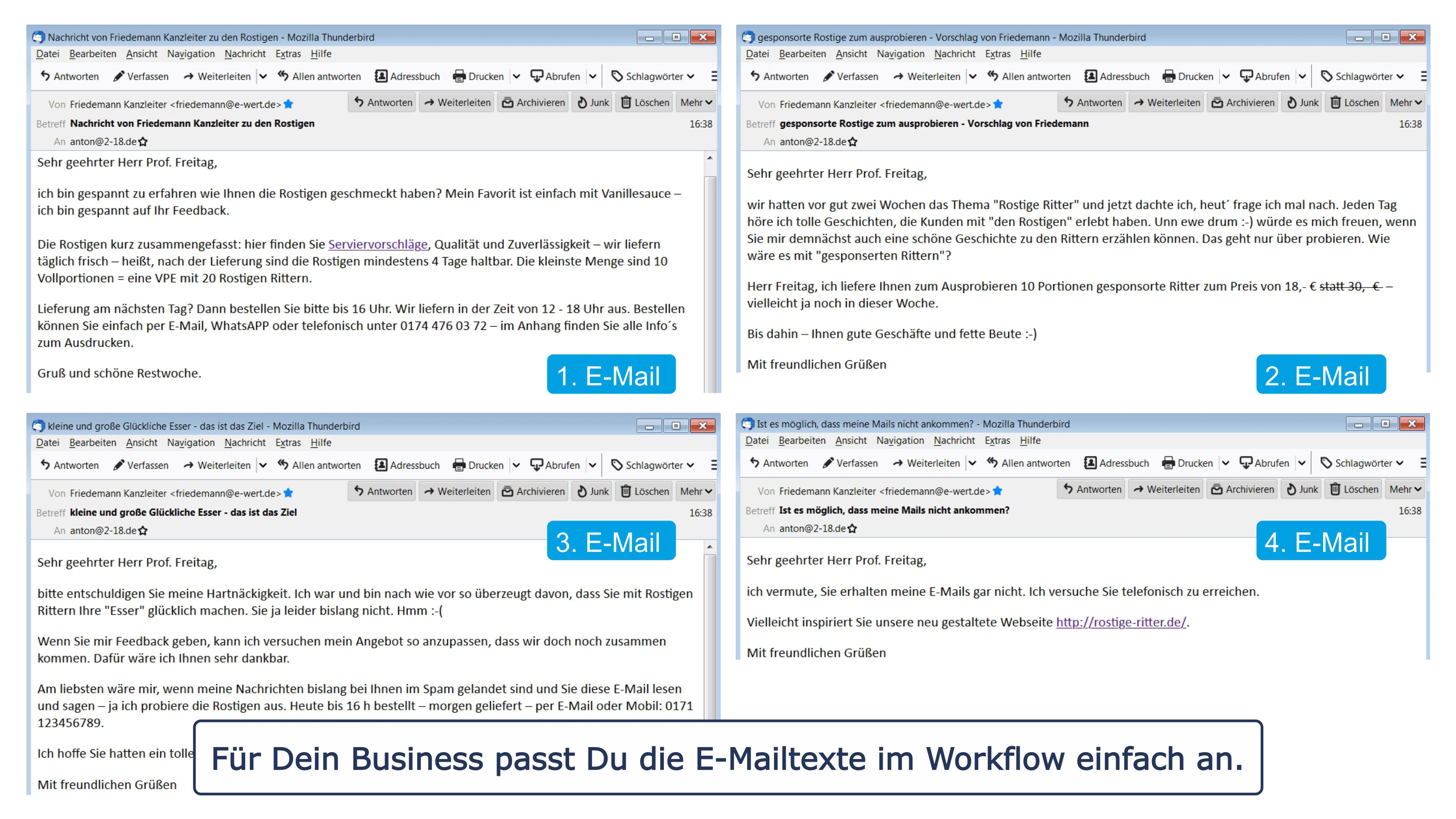 AK-Kampagne E-Mails