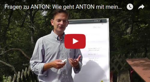 Wie geht ANTON mit meinen Daten um?