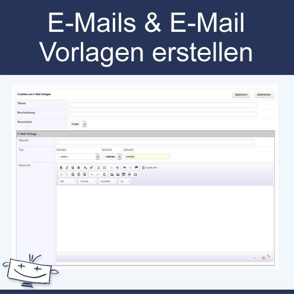 E-Mails schreiben E-Mail Vorlagen erstellen
